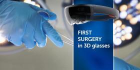 Проведена перша операція в 3D окулярах  - Bimedis - 1
